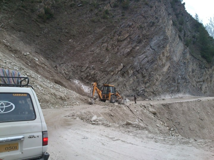 Road to Zozila Pass