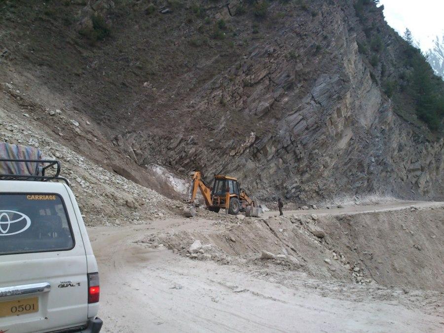 Road to Zozila Pass
