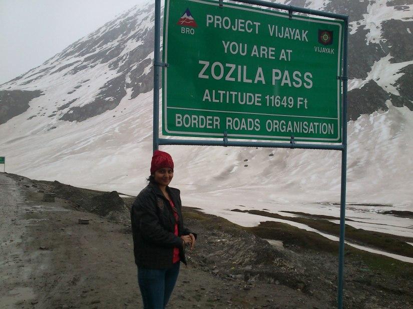 Zozila Pass