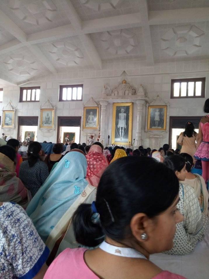 The mega Swadhyay Hall