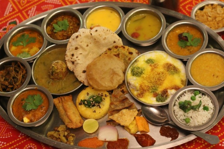 The Famous Gujarati Thali
