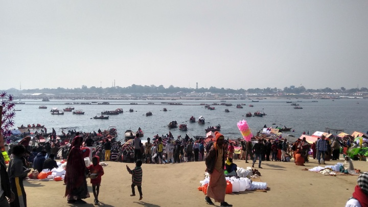 Kumbha mela at Prayag